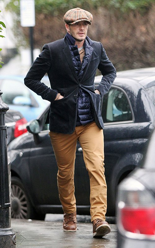 David-Beckham-Stays-Warm-in-Blazer-Field-Vest-and-Red-Wing-Boots-out-in-London